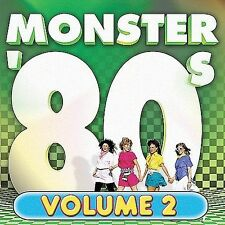 Monster '80s, Vol. 2 by Various Artists (CD, Feb-2002, Razor & Tie) sealed, dril