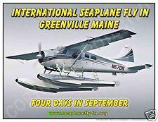 de Havilland Beaver Greenville Seaplane Fly In Promo