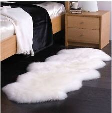 "100% Genuine New Zealand Australian Sheepskin Sheep Skin Rug  70"" x 23"""