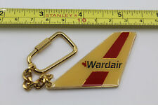 Wardair Canada Airlines Airplane Yellow Keychain