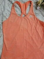 ADIDAS Women's Tank Top Climate Tank Top Shirt Athletic Size Large L Orange