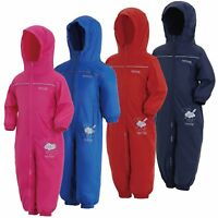Regatta Puddle IV Kid's Waterproof Breathable All-in-one Suit