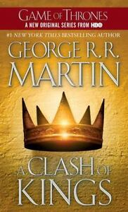A Song of Ice and Fire Ser.: A Clash of Kings by George R. R. Martin (2000, Mass