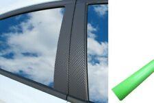 6x Premium a B C Montante Porta Listelli Auto Pellicola Set Verde Chiaro Opaco