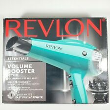 Revlon Professional 1875W Ionic Hair Blow Dryer 2 Speed Volume w/ Diffuser Salon