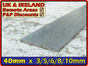 Stainless Steel Flat Bar ║ 40mm wide ║ marine,strip,section,profile,sheet