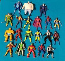 20 Toy Biz HEAVY METAL HEROES Figures MARVEL & X-MEN Die Cast