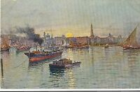 POSTCARD   ITALY   NAPLES   The Port