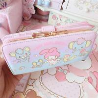 Lolita Sweet Cartoon Melody Japanese Kawaii Cute Long New Wallet Handbag Purse
