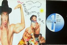Red Hot Chili Peppers ORIG UK Lim. Edit. PS Shaped 45 Taste the pain EX '89 EMI