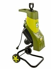 Sun Joe 14-Amp Steel Electric Wood Chipper Shredder Yard Mulcher Garden Brush