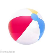 """24"""" INFLATABLE BEACH BALL HUGE MULTI COLORED Festival Party Favor Pool 31022"""