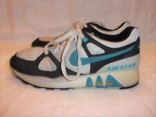 Vintage - Nike Air Stab - Men's size 8.5 - 1980s - Old School cool cool! Teal