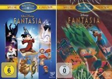 2 DVDs Walt Disney Fantasia + Fantasia 2000 - Special Collection - Neu/OVP