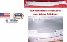 1970 Plymouth Barracuda Cuda Lower Grille Valance Insert NEW MoPar