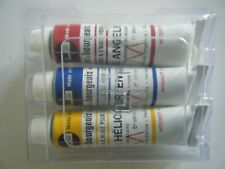 Lot de 3 tubes 10 ml Peinture Huile Extra fine Lefranc & Bourgeois Beaux arts