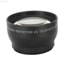 C82F Professional 52mm 2x Magnification Telephoto Lens For Nikon D5100 D3200 D70