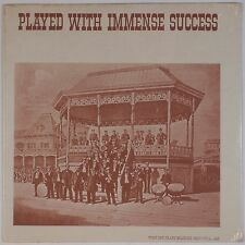 PLAYED WITH IMMENSE SUCCESS: Various Louisiana Jazz Blue SEALED Vinyl LP 70s