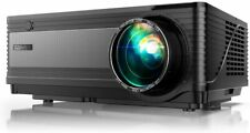 YABER Native 1080P Projector 6500Lux Upgraded Full HD Video 1920 x 1080 4K