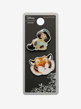 Disney Jasmine & Rajah Best Friends Enamel Pin Set