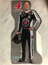 """MINIATURE KEVIN HARVICK #4 (JJ) NASCAR 13.5""""x 6.5"""" Standup/Standee/Cardboard"""
