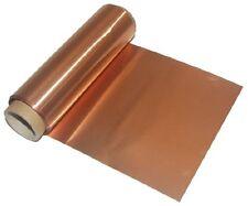 Suave cobre Lámina 1m Lámina Metálica artesanías de grabación en relieve no adhesiva
