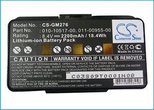 UPGRADE GPS Battery For GARMIN GPSMAP 276, GPSMAP 276c,GPSMAP 296