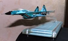 MIG-29 model plane scale stand table desk plastic aircraft fighter military