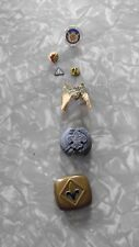 boy scout pins and scarf ties vintage 3 pins and 3 other items scarf ties
