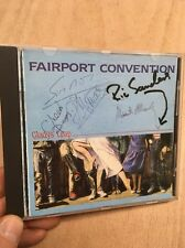 Fairport Convention-Gladys' Leap CD 1986 Woodworm WRCD007 Fully Signed Dave Pegg