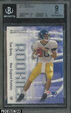 2000 Skybox Impact #27 Tom Brady New England Patriots RC Rookie BGS 9 w/ 9.5