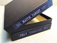 Colt Woodsman Match Target Heavy Barrel Box (Bullseye)
