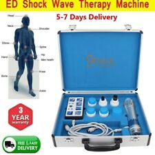 Fastshipping 7 Transmitters Shockwave Therapy Machine For Erectile Dysfunction