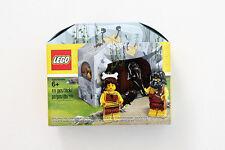 Genuine Lego ICONIC CAVE Promo Set 5004936 inc Caveman + Cavewoman CMF Woman Man