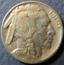 Vintage 1934 INDIAN HEAD/BUFFALO NICKEL, Fine Details, Philadelphia Mint Coin #5