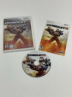 Rare! Conduit 2 Limited Edition (Nintendo Wii, 2011) Tested- Disc/Manual/Case
