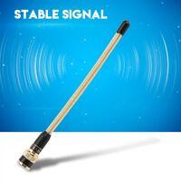17cm VHF 136-174 MHz BNC Walkie Talkie Antenna Gold For ICOM V8/V80/V80E/V82/V85