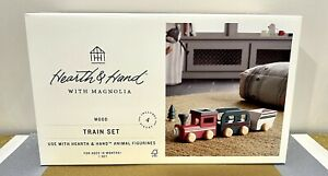 Hearth And Hand with Magnolia 2021 Kids Toy Wooden Train Set Exclusive New