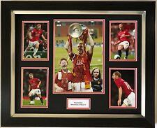 Paul 'Firmato a Mano Manchester United visualizzazione foto incorniciata 1.