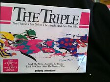 """""""The Triple"""" The Puzzle that Lets you Win Tickets to the Triple Crown Races 1991"""