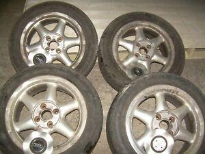 Audi 80 Alufelge 4- Loch Felge Ronal 8A0071494 7J x 16 ET 37  4 x 108 mit Deckel