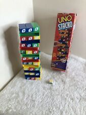 Uno Stacko - Spears Games - Vintage Stacking Game - 100% Complete - VGC