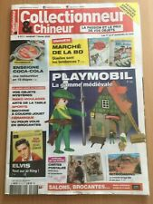 COLLECTIONNEUR CHINEUR N°311 FE 2020 PLAYMOBIL, ELVIS PRESLEY, CONSOLE AMIGA 500