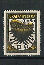 66189 - ITALIA colonie - EGEO RODI  Sass # 30caa VARIETA' - Non linguellato