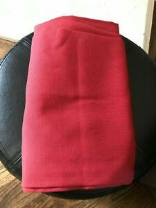 Pottery Barn  Window Panels Red set of 2 size  44 x 84