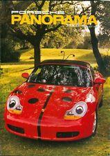 1997 Porsche Panorama Magazine: Tinker Floyd Lady Bug Porsche Boxster