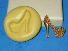High Heel Shoe Silicone Push Mold A63 Cake Topper Fondant Gumpaste Chocolate