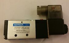 """Brand New 1/4"""" 5 Way 2 Position Control Solenoid Valve AC220V 50H~Free Shipping~"""