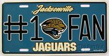 Jacksonville Jaguars #1 Fan PV0915 Metal Tag License Plate Football Jags