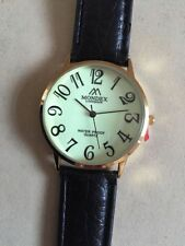 Unbranded Genuine Leather Strap Polished Watches